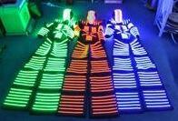 Wholesale David Guetta - LED Luminous Costumes -David Guetta KRYOMAN LED Robot Costume for Night Clubs Parties Size  color customized
