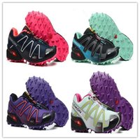 Wholesale Size 41 Women Shoes - 2017 New Zapatillas Speedcross 3 Running Shoes Women Walking Ourdoor Sport shoes Athletic Shoes Size 36-41