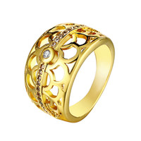 Wholesale vintage style ring settings resale online - Ring Zircone Women Wedding Anniversary Vintage Jewelry Current Female Summer Style Antique Rings Bisuteria Anillos R110