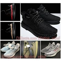 Scarpe da corsa per donna a buon mercato SPLY 350 V2 Boost Kanye 350V2 West Pirate Black Turtle Colomba oxford tan Moonrock Sply350 Stivali sneaker 36-46