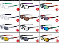 Wholesale Wholesale White Wooden Letters - New Fashion Semi-Rimless Wood Men Sunglasses Reflective Sports Sun Glasses Outdoors Square Frame Eyewear Gafas De Sol Oculos no box 8030