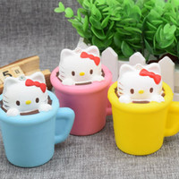 Wholesale Toys Cat Phone - Squishy Toy pegasus squishies Small cups cat Slow Cartoon ice cream sushi Soft Squeeze Cute Cell Phone Strap gift Stress for children