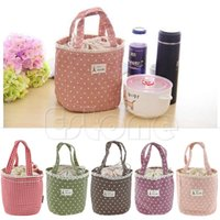 Wholesale Cooler Lunch Boxes - Wholesale- Lunch Container Cooler Bag Tote Bento Pouch Lunch Container Box Bag