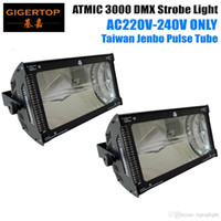 2XLOT Professional DJ Strobe Disco Chine 3000W Strobe Light / DJ Equipement / Effet Strobe Lighting Protection thermique MC-1 Control