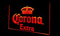 Wholesale Extra Lights - LS145-r Corona Extra Beer Bar Pub cafe Neon Light Sign Decor Free Shipping Dropshipping Wholesale 6 colors to choose