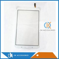 Wholesale Galaxy S3 Color Screen - Black White Color For Samsung Galaxy Tab 3 8.0 T310 Touch Screen Digitizer 20PCS  Lot