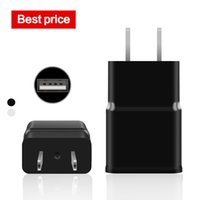 Wholesale Galaxy Note Power Plug - power bank phone chargers For iphone 1A 7100 USB US Plug Travel Charger For Samsung Galaxy S5 NOTE 3 LG HTC Huawei True Full 2A