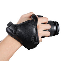 Wholesale Leather Hand Grip Wrist Strap - Camera Padded Wrist Grip Strap Genuine Leather Hand Grip Strap for DSLR Cameras Canon Nikon Sony,Compatibility with Universal SLR Camera