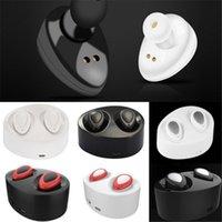 kostenlos spielen großhandel-TWS Mini Bluetooth Ohrhörer Wireless Stereo Kopfhörer für iphone i7 plus S7 Rand mit Ladebuchse spielen Musik Handy-Kopfhörer