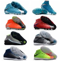 Wholesale Cheap Indoor Soccer Cleats - 2017 new arriv original soccer cleats turf neymar boots soccer shoes indoor ankle high football boots mens cheap cleats boots football shoes