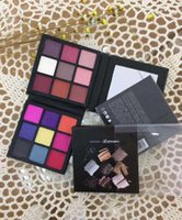 Smokey Electric Mauve Warm Brown Beauty Obsessions Eyeshadow Palette Pro Cosmetics DHL gratuito