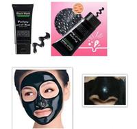 очищающие маски для лица оптовых-Угри удаления коллагена маска для лица Черная Маска всасывания 50 мл SHILLS глубокое очищение Очищение шелушиться Черная маска для лица пилинг маски Epacket