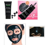 Wholesale pore remover mask for sale - Group buy Blackheads removers collagen facial mask Black mask Suction ml SHILLS Deep Cleansing purifying peel off Black face mask Peel Masks Epacket