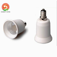 Wholesale E12 E27 Holder - Wholesale E12 to E26 E27 lamp holder adapter converter lamp adapter E12 male to E26 female free shipping