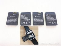 Wholesale Watch Mobile Phone Free Shipping - 2017 new original authentic DZ09 smart watch mobile phone battery 380 MAH battery watch battery free shipping