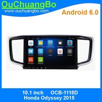 Ouchuangbo Car Audio Мультимедиа Радио Android 6.0 для Honda Odyssey 2015 С BT 3G Wifi SWC MP3