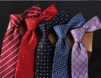 Wholesale trousers accessories for sale - Group buy 5 Colors High Quality Men Neck Ties Business Fancy Trousers Stamp Groom Ties Wedding Accessories m01