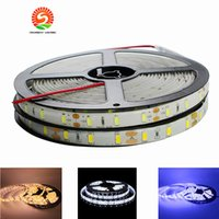 Wholesale Tape Leds Free Shipping - Super bright than 5050 led strip lights 5630 300 LEDs 5m led strips IP65 Waterproof DC12V flexible tape 60 led m free shipping