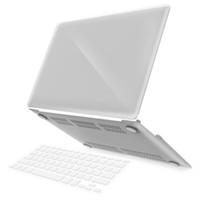 Clear Crystal Hard PC Laptop Flip Cover Fall für MacBook Air Pro Retina 2016 11,6 12 13,3 15,4 Zoll (A1706 A1708 A1707)