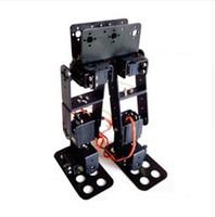 Wholesale Servo Brackets - F17325 FEICHAO 6 DOF Biped Walking Humanoid Robot Servo Bracket Mechanical Arm