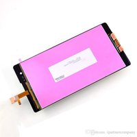 Wholesale Touch Screen Lcd Xperia - For Sony Xperia T2 Ultra D5303 D5306 LCD Screen Display Digitizer Touch Assembly Oem With Touch Screen Digitizer Replacement Assembly