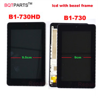 Wholesale Acer Iconia Digitizer - 7 Inch Used parts B1-730HD display For Acer Iconia One 7 B1-730 lcd Touch screen with digitizer sensor panel assembly with frame bezel