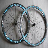 AWST 60mm full carbon fiber road bike wheels green decal bicycle carbon wheels clincher 700C china bike wheels