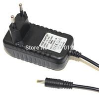 зарядное устройство для настольных пк оптовых-Оптово-оптовые 200pcs / lot 5V 2A Черное зарядное устройство Адаптер питания 2.5 мм США / ЕС Plug адаптеры для Android Tablet PC