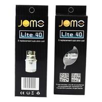 bobina de 2.4ohm cabeza al por mayor-100% genuino JOMO Lite 40W Sub Ohm Bobinas de repuesto Bobina de cabeza de cigarrillo Jomotech para Jomo Lite 40W Kit Jomo Tech Box Mod