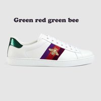Wholesale Model Bees - Genuine Leather casual shoes unisex Fshion embroidery Bees sneakers For more style please contact us model Bees