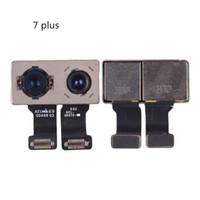 cámara trasera iphone 5s al por mayor-Alta calidad para iPhone 7 plus Cámara trasera trasera Camera Camera + Flex Cable Lens para iphone 6 6G 5S 5 5G 5C 6s 6s más Reemplazo