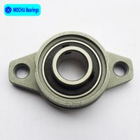 Wholesale Shaft Block Bearing - Wholesale- 4pcs 10mm KFL000 kirksite bearing insert bearing shaft support Spherical roller zinc alloy mounted bearings pillow block housing
