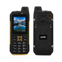 Wholesale Shockproof Dustproof Dual Sim - iMAN S2 IP68 Waterproof Dustproof Shockproof Rugged Mobile Phone 2 Inch 64M+64M 2MP Camera Flashlight Power bank 2200mAh