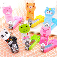 Character case animations - T South Korea han edition manicure tools Creative home accessories Animation cartoon nail clipper Nail clippers nails