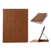 Wholesale Ipad Wood Cases - KAKU Wood Auto Wake Sleep Case with Card Slot For iPad 2 3 4 5 6 air 1 2 mini 2 3 4