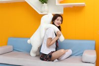 Wholesale Huge Arm - 1pc 90cm Huge Size Cute Korea Long Arms Rabbit Plush Toy Doll Creative Nap Sleeping Big Pillow Lover Gift Christmas Gift