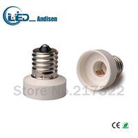 ingrosso supporto e11-Adattatore E17 TO E11 Presa di conversione Materiale ignifugo materiale di alta qualità Adattatore per presa E12 Portalampada