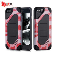 Wholesale Pc Cases Manufacturers - Customized TPU PC Cover Manufacturer Wholesale For iPhone X 8 8+ 7 7+ Hybrid Combo Case Camouflage Design Shockproof Armor Case