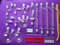 Wholesale New Lab Chemistry Glassware kit Laboratory Glassware Set With Joints