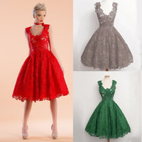 Wholesale Sexy Stylish Short Skirts - New sexy hollowed-out v-neck high waist dress perspective stylish lace sling dress hollow-out embroidery lace princess skirt