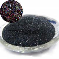 ingrosso glitter laser nero-Wholesale- 1/128