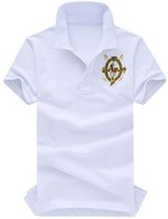 orange polo-stil hemden großhandel-Life Style Sommer Stil Männer Polo Shirts Casual Tops Tees Hemd Polos Schlank Sport Shirt Männer Casual Camisa Shirts Neue Ankunft