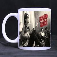 Wholesale Mars Sons - Wholesale- Dragon Ball Z Mug Taza SON Goku Heat Reactive Magic Color Changing Bruno Mars Mug Super Saiyan Caneca Coffee Cup