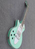Wholesale Leaves String Lights - free shipping light green staff left-handed Electric guitars Rosewood Fingerboard Can send pictures customization can change