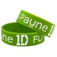 Wholesale one direction wristbands for sale - Group buy Hot Sell PC Inch Wide Future Mrs Payne D Silicone Wristband One Direction Bracelet For Music Fans