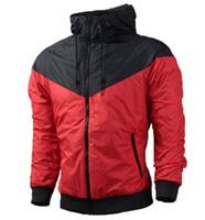 Wholesale Hooded Sweatshirts Zipper Women - 2017 Free shipping New Man Spring Autumn Hoodie Jacket men Women Sportswear Clothes Windbreaker Coats sweatshirt tracksuit men coat