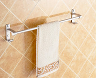 Wholesale Towel Rack Pole - A5 Home Storage & Organization 50cm Towel bar single pole towel hanger bathroom space aluminum towel rack bathroom pendant