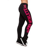 Wholesale Women S Print Sexy Jeggings - Wholesale- 2016 Sexy Women Fitness Sporting Leggings Workout Professional Colorful Printed Pants Elasticity Jeggings Push Up Active Legins