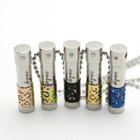 Wholesale Women Parfum - With Chain as Gift! New 316l stainless steel aroma pendant oil diffuser necklace women parfum pendant with crystals