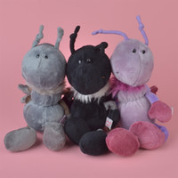 Wholesale Nici Plush Toys - 25cm Brand New Soft Stuffed NICI Colors Ant Plush Toy, Lambie Baby Kids Brithdat Party Doll Gift Free Shipping
